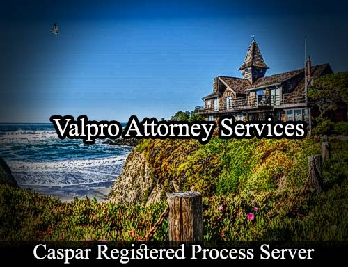 Caspar California Registered Process Server