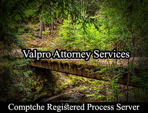 Comptche California Registered Process Server