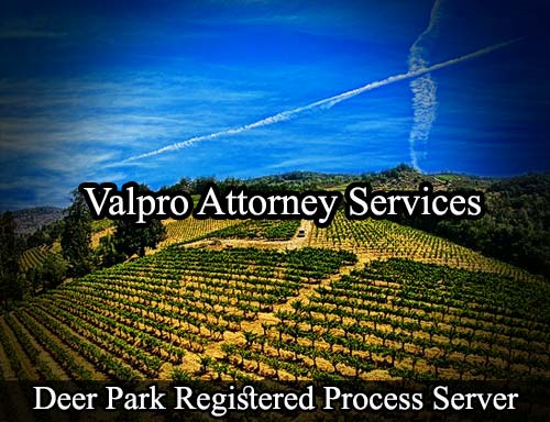 Deer Park California Registered Process Server