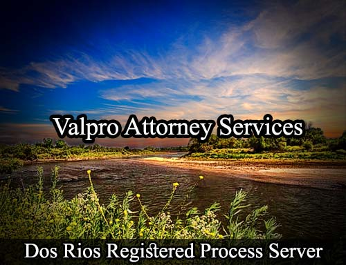 Dos Rios California Registered Process Server