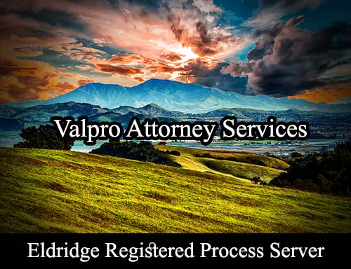Eldridge California Registered Process Server