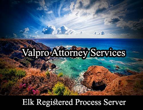 Elk California Registered Process Server