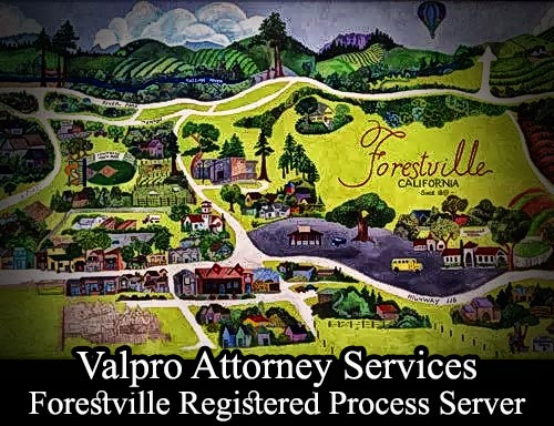 Forestville California Registered Process Server