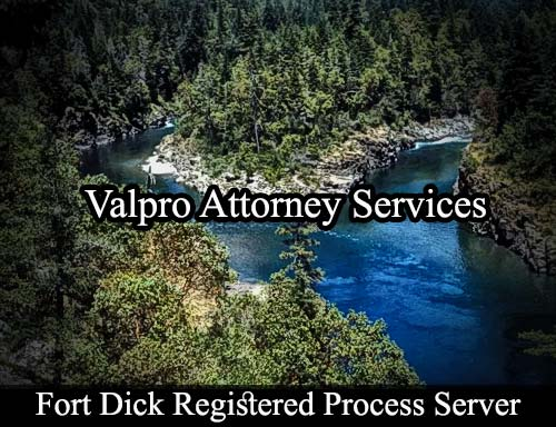 Fort Dick California Registered Process Server