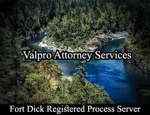 Fort Dick California Registered Process Server