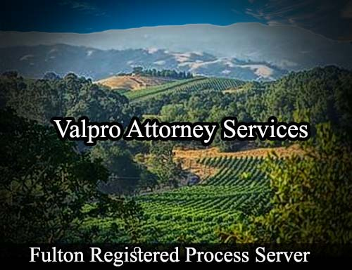 Fulton California Registered Process Server