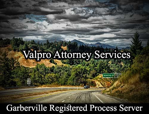 Garberville California Registered Process Server