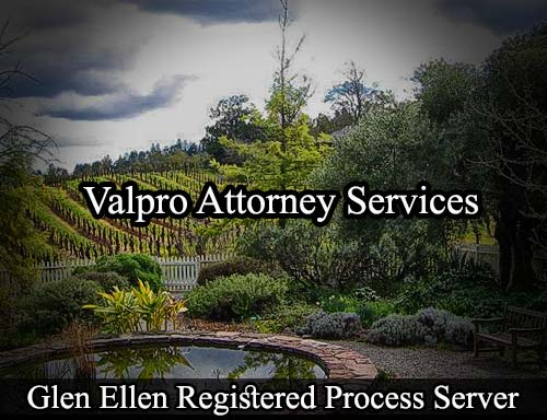 Glen Ellen California Registered Process Server
