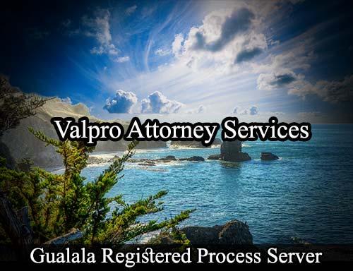 Gualala California Registered Process Server
