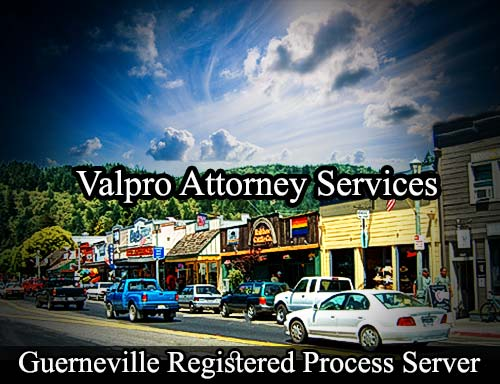 Guerneville California Registered Process Server