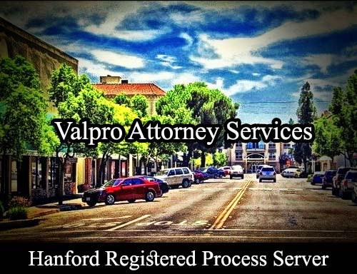 Hanford California Registered Process Server