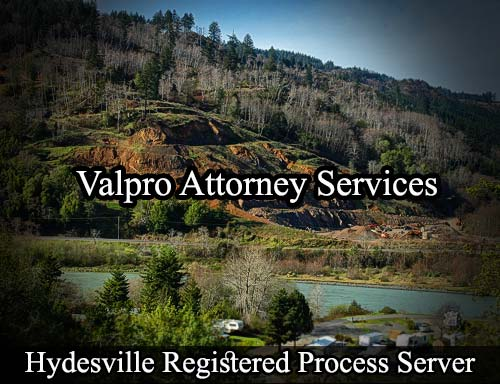 Hydesville California Registered Process Server