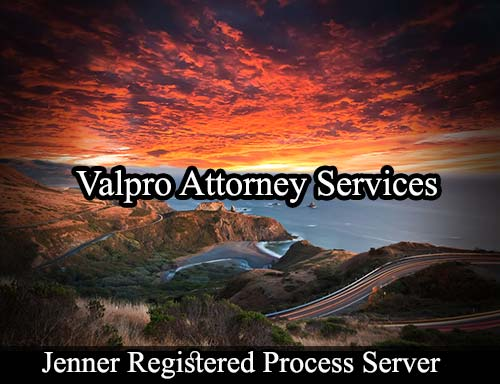 Jenner California Registered Process Server