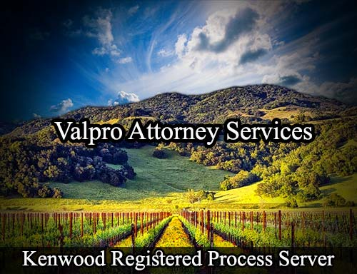 Kenwood California Registered Process Server