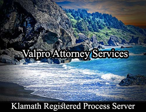 Klamath California Registered Process Server