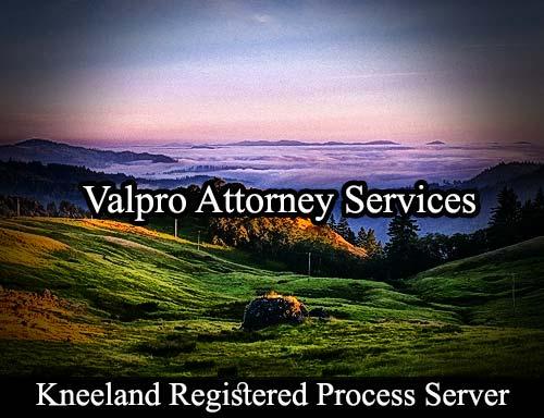 Kneeland California Registered Process Server