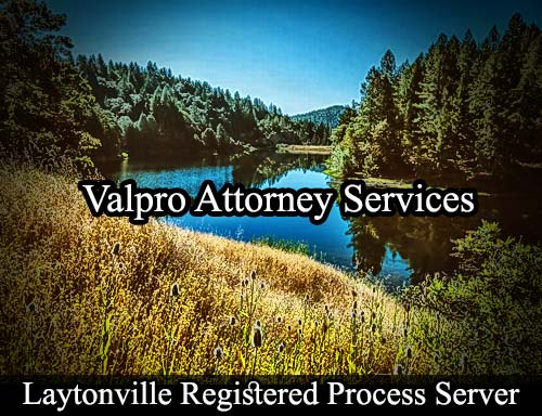 Laytonville California Registered Process Server