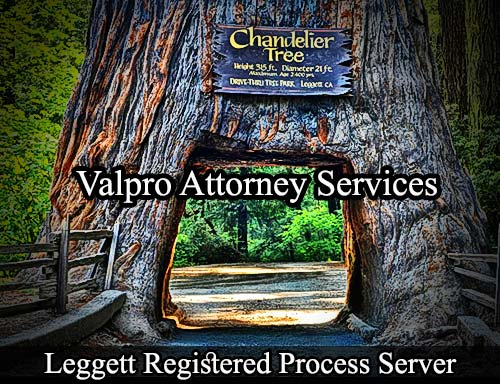 Leggett California Registered Process Server