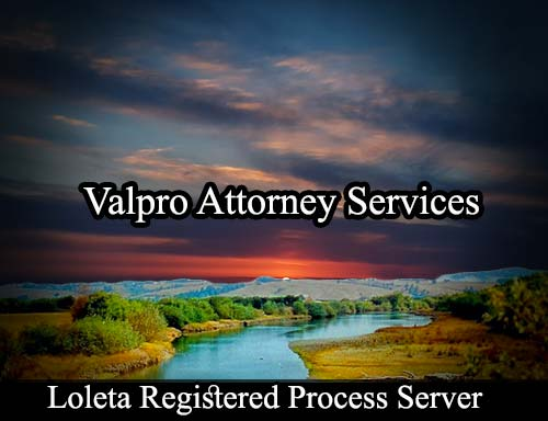 Loleta California Registered Process Server