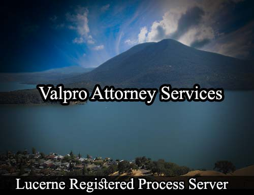 Lucerne California Registered Process Server