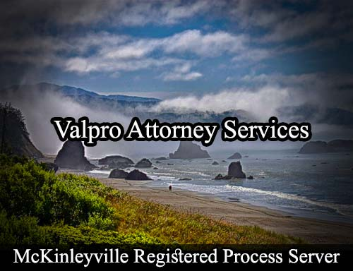 McKinleyville California Registered Process Server