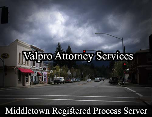 Middletown California Registered Process Server