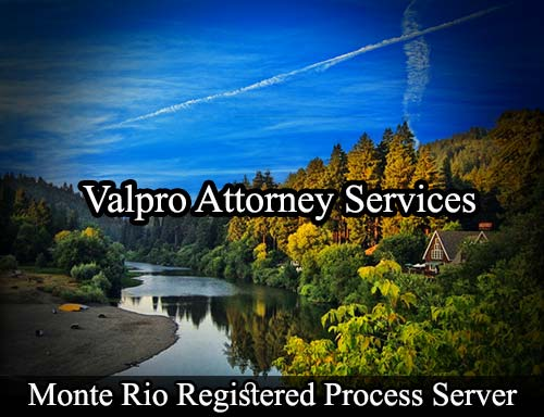 Monte Rio California Registered Process Server