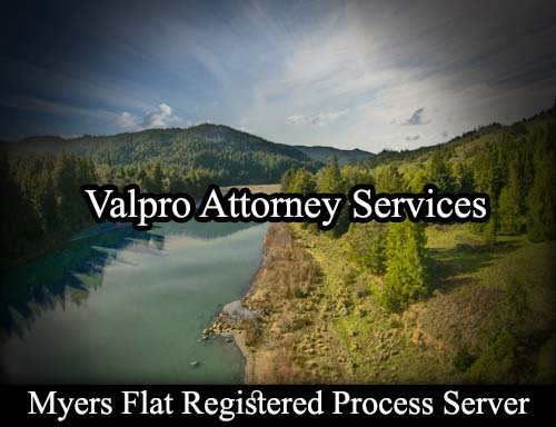 Myers Flat California Registered Process Server