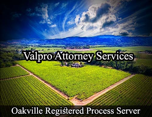 Oakville California Registered Process Server