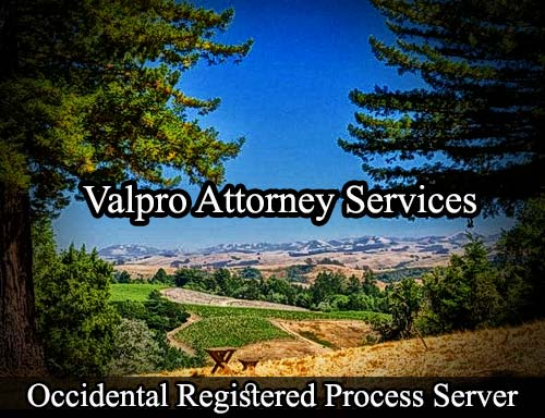 Occidental California Registered Process Server