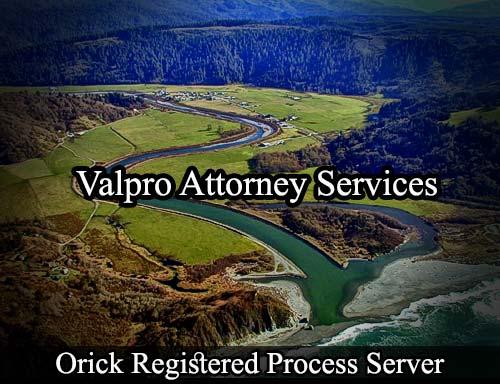 Orick California Registered Process Server