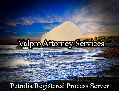 Petrolia California Registered Process Server
