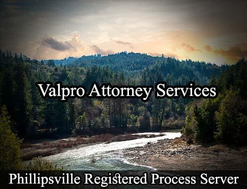 Phillipsville California Registered Process Server