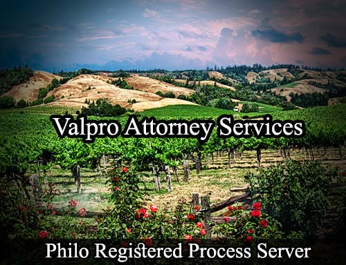 Philo California Registered Process Server