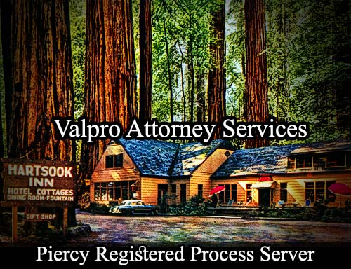 Piercy California Registered Process Server