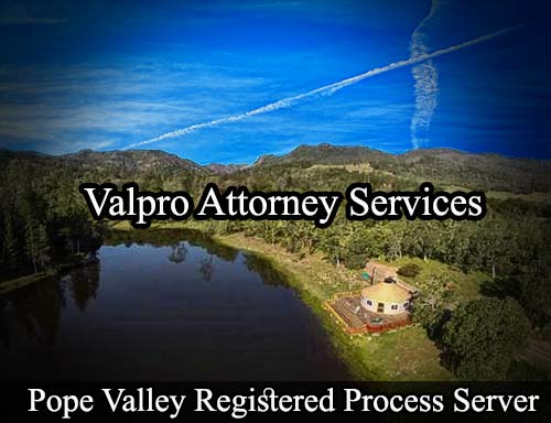 Pope Valley Registered Process Server