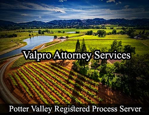 Potter Valley California Registered Process Server
