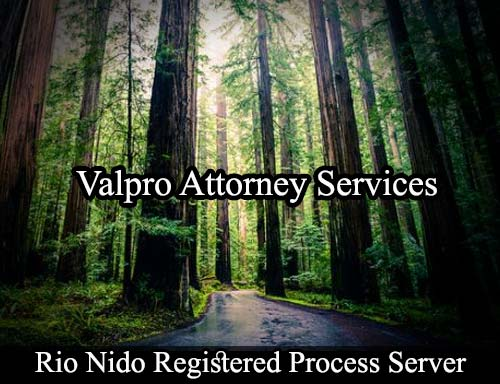 Rio Nido California Registered Process Server