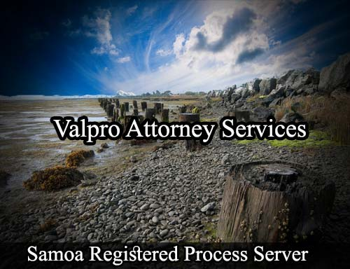 Samoa California Registered Process Server