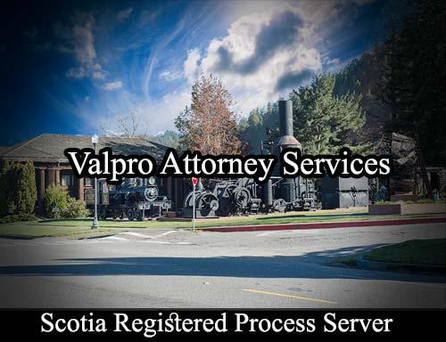 Scotia California Registered Process Server