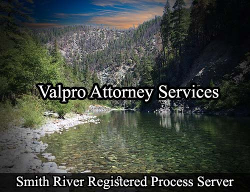 Smith River California Registered Process Server