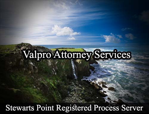 Stewarts Point California Registered Process Server