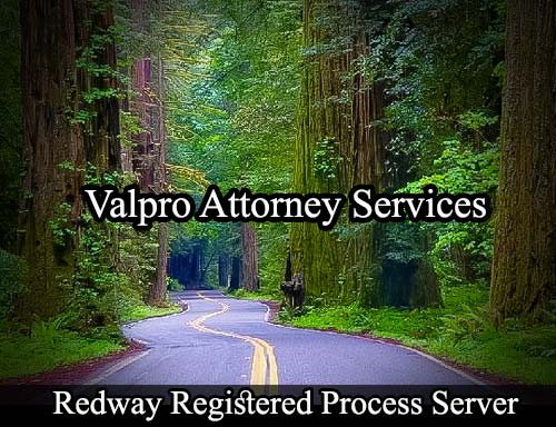Redway California Registered Process Server