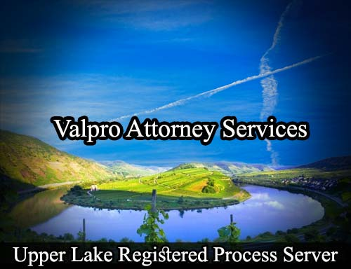 Upper Lake California Registered Process Server