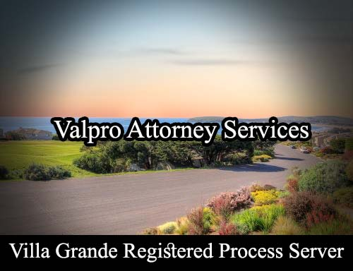 Villa Grande California Registered Process Server