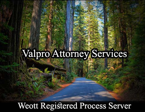 Weott California Registered Process Server