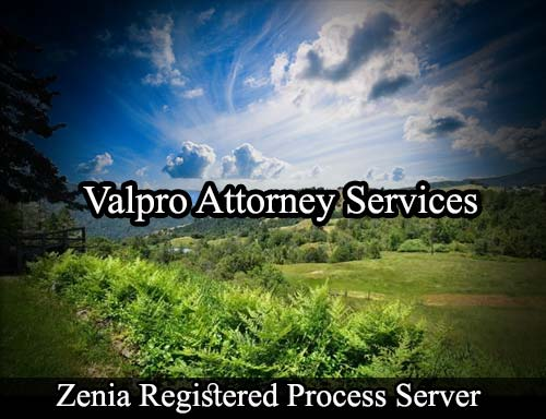 Zenia California Registered Process Server