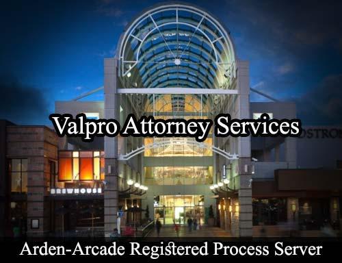 Arden-Arcade California Registered Process Server