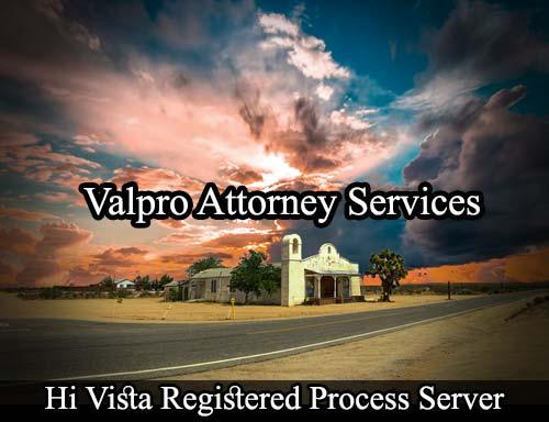 Hi Vista California Registered Process Server