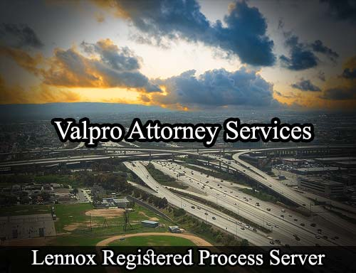 Lennox California Registered Process Server